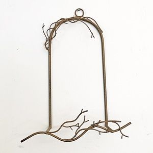 Metal Twig Branch Wall Plate/Frame Holder Display